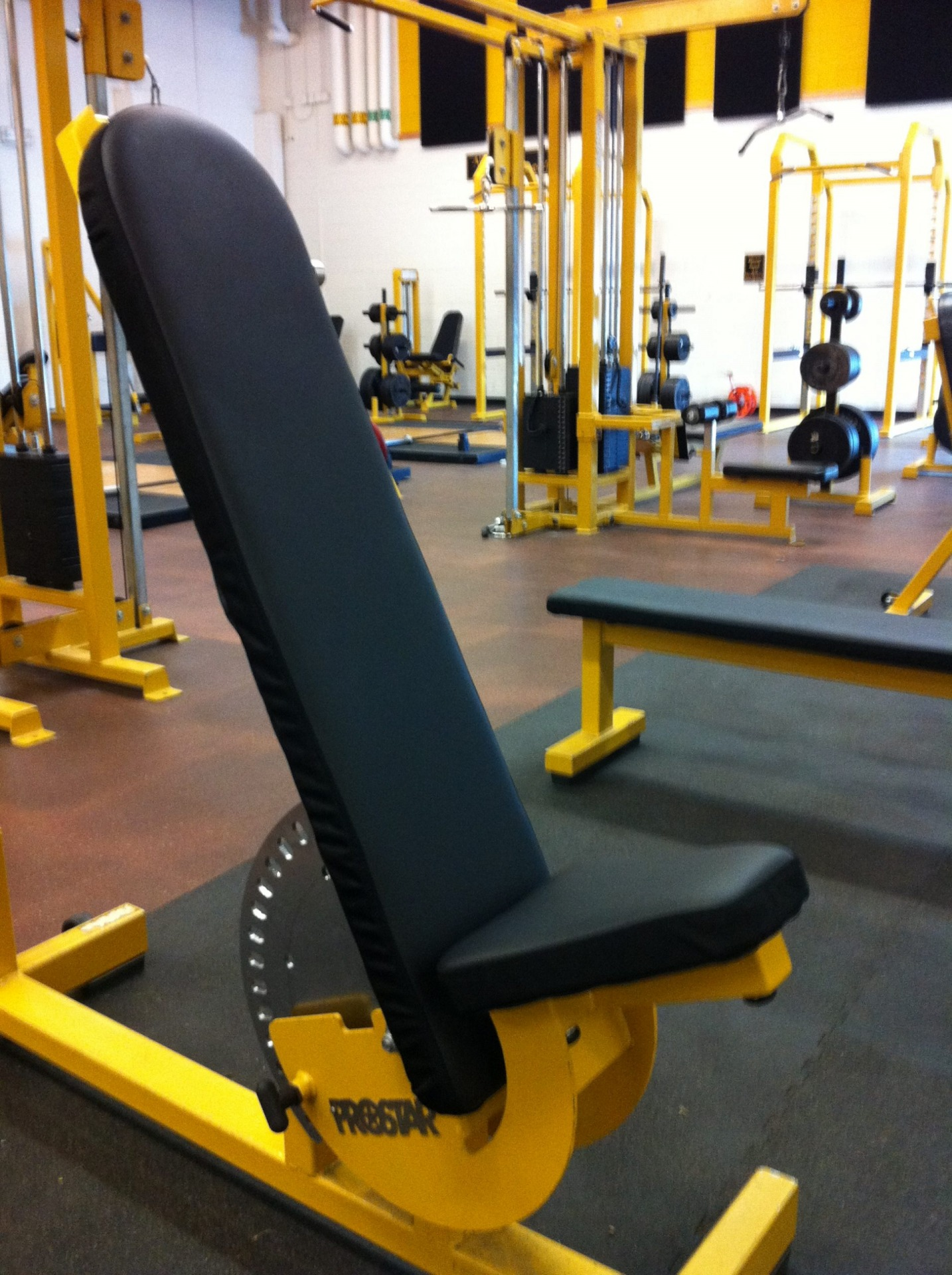 Adjustable Incline Bench Recovered in Ballisitc Nylon and BoltaSport Olympus Black