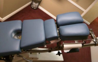 Elite Powered Chiropractic Table Upholstery Recover