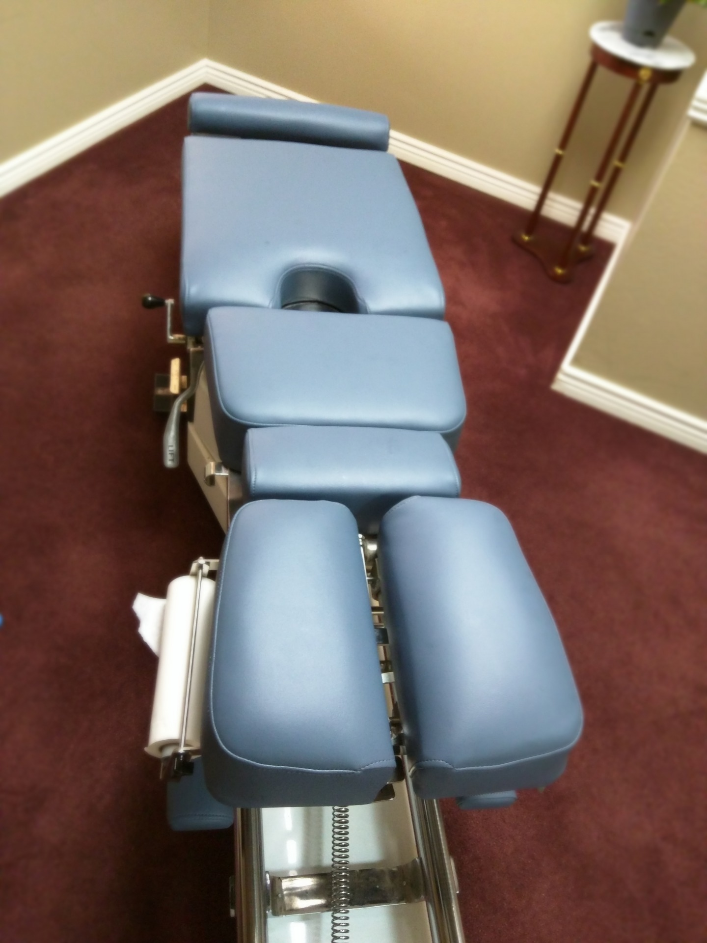Elite Flexion Chiropractic Power Table Upholstery
