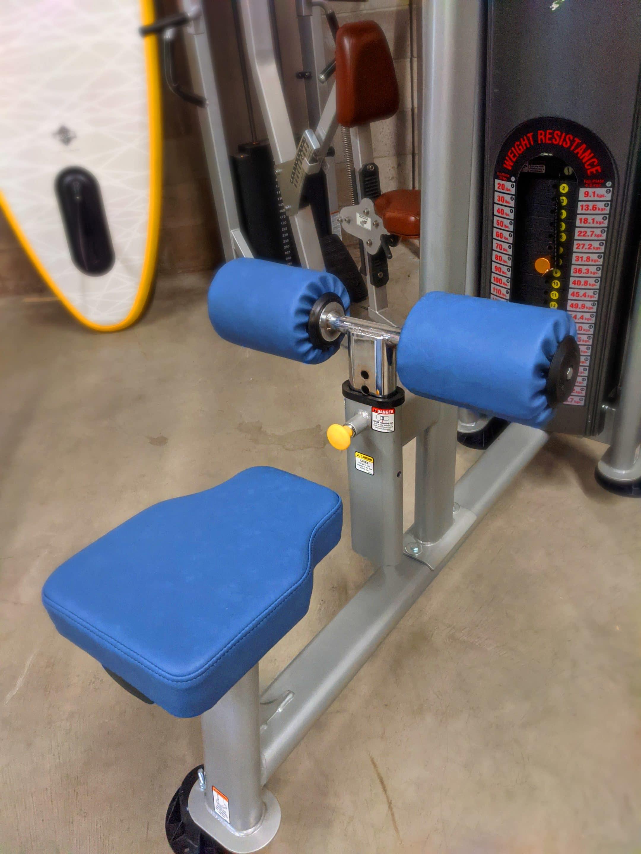 Gym Equipment Lat Pulldown BoltaSport Titan Azure